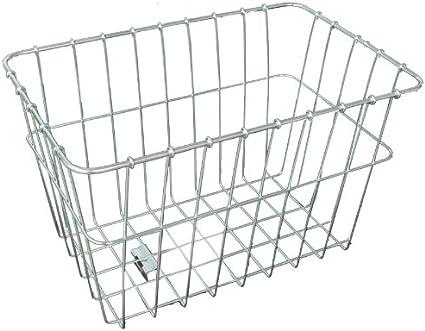 Wald 585 Rear Rack Basket Silver