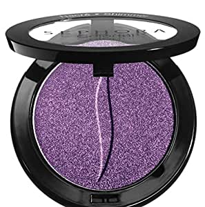 Eyeshadow purple shimmer