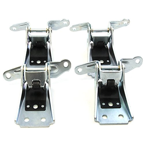 4 Door Hinges Lower RH Passenger Compatible with Ford Ranger Thunderbird Marquis LTD Right Front
