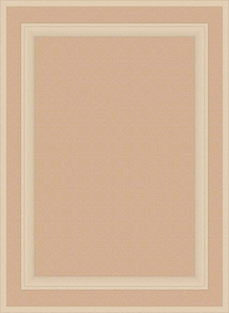 30H x 22W Kendor Unfinished MDF Cabinet Door Square with Raised Panel