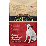 AvoDerm Natural Oven-Baked Dry Dog Food, All Life Stages Beef Meal, 24 Pound Bag
