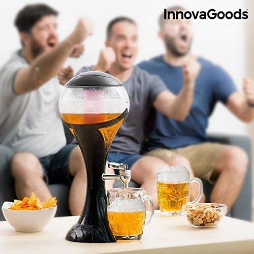 Innovagoods IG811860 Dispensador De Cerveza Con Led, Negro
