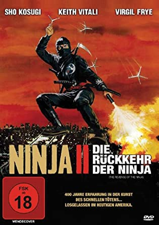 Ninja II - Die Rückkehr der Ninja [Alemania] [DVD]: Amazon ...
