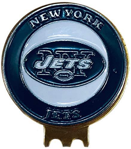 ニューヨークジェッツ ハットクリップ 真鍮 ゴルフボールマーカー付き   B07NSD2RVJ