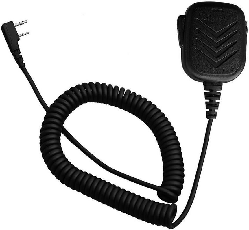 Red Waterproof IP54 Handheld Speaker Microphone Fr BaoFeng Kenwood TYT Radio UE