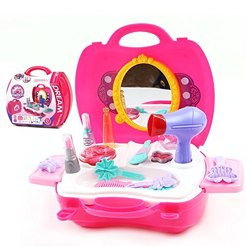 dressing-table-pretend-play-set-comb-hair-dryer-hairwork-learning-play-toy