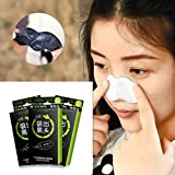 DEESEE(TM) 10pc Nose Pore Cleansing Strips Blackhead Remover Peel Off Nose Sticker