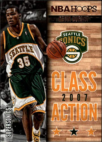 2013-14 NBA Hoops Class Action #6 Kevin Durant Seattle Supersonics Official Basketball Card (made by Panini)