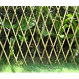 Expandable Bamboo Poles Trellis with aluminum rivets, 48