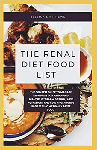 list of foods on a renal diet
