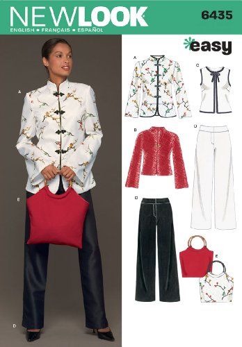 Simplicity Creative Group, Inc New Look Sewing Pattern 6435 Misses Separates, Size A (10-12-14-16-18-20-22)