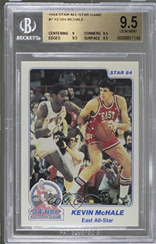 Kevin McHale Graded BGS 9.5 GEM MINT (Basketball Card) 1984 Star - All-Star Game #7