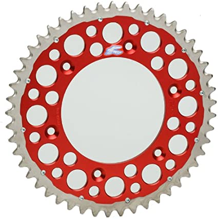 Red 1540-520-51GPRD Renthal 51T TwinRing Rear Sprocket
