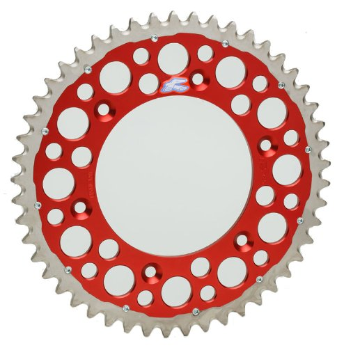Renthal 1540-520-51GPRD Twinring Red 51 Tooth Rear Sprocket