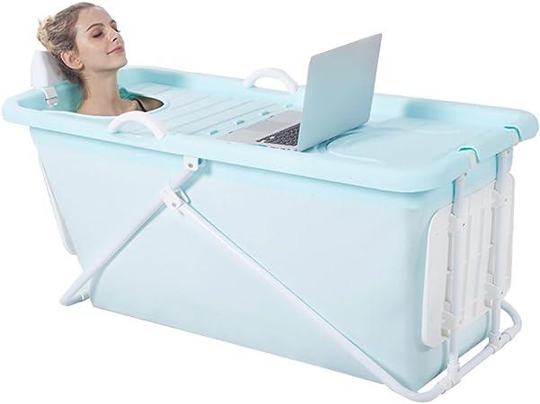 Folding Tub Baignoire Pliante Adulte Baignoire En Plastique Pour Enfants Grand Bidet Systemique Pour Enfants Couleur Bleu Amazon Fr Cuisine Maison