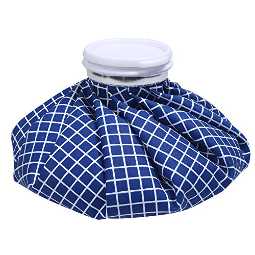 Ice Bag - NEWSTYLE Hot and Cold Reusable Pack 9 inch (Blue) ()