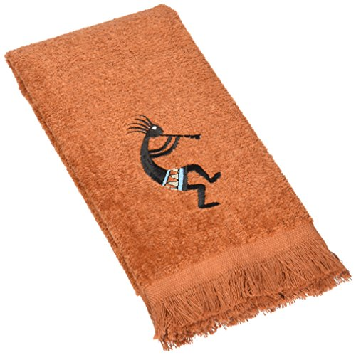 Avanti Linens Kokopelli Hand Towel, Copper