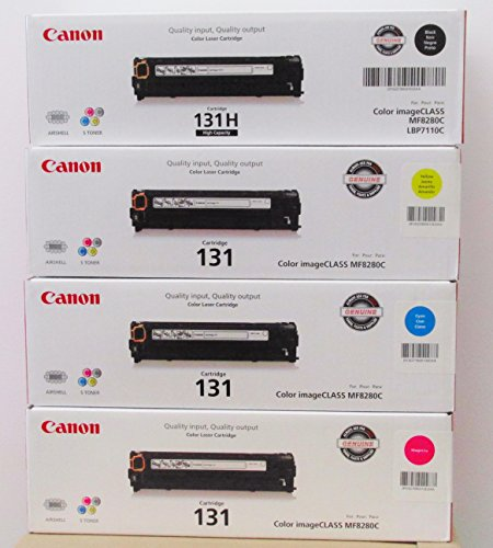 Original Canon 118  2 Black Toner Value Pack, and 1 Cyan, Ma