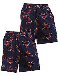 Men's 2-Pack Lounge Shorts Sleepwear Pajama Bottom