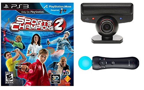 Sports Champions Move Starter Bundle PS3