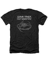 Star Trek Ds9 Station Mens Heather Shirt