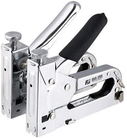 Pistola Para Clavos, Clavadora Manual, Adecuada Para Clavos Rectos, Clavos Para Puertas, Clavos En Forma De U, Manijas Protectoras
