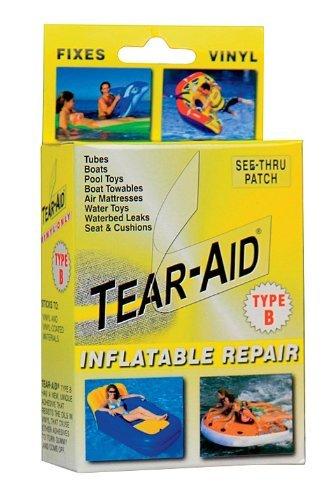 Tear-Aid Vinyl Inflatable Repair Kit, Yellow Box Type B