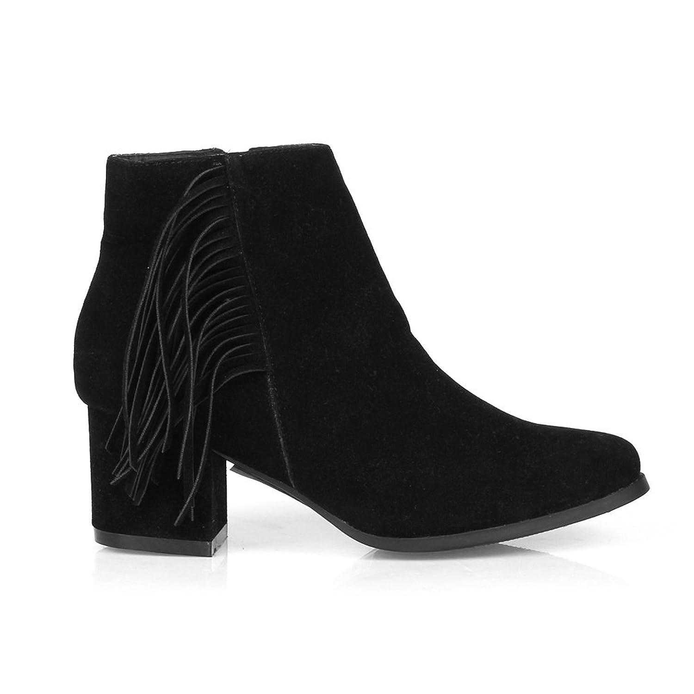 Fahrenheit Lida09 Women's Ankle Booties in Black