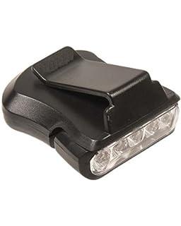 Camping & Outdoor Stirnlampen Clip Light 5LED Caplight für Basecap Molle Schuhlampe Etc