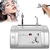 Oxygen Injection Machine Oxygen Spray Water Injection Hydrate Jet Skin Rejuvenation Beauty Machine(White)