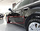 Body Side Mouldings Door Molding Kit Trim Protector Cover Black Colour Suitable for Alfa Romeo 159 4D SW