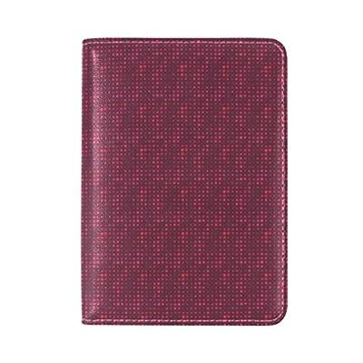 well-wreapped Brisper leather Passport Cover Holder Case Leather Protector for Men Women Kid