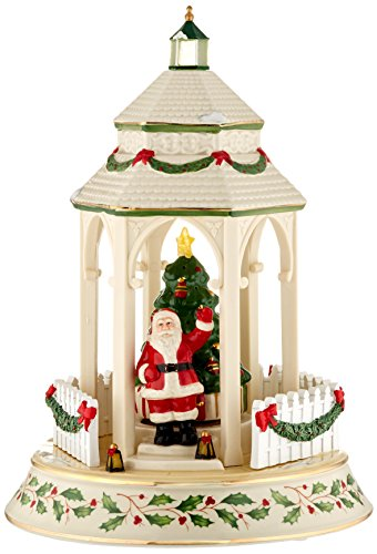 Lenox Tree Lighting Gazebo - Figurine Christmas Decorated Tree