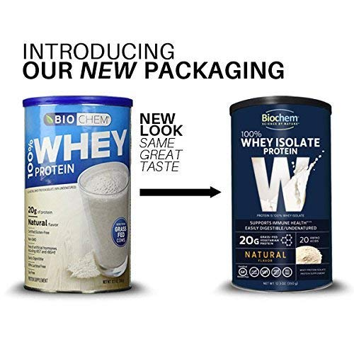 Biochem Ultimate Lo Carb Whey, Natural, 12.3-Ounce Can by Biochem (Image #2)