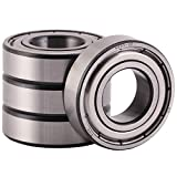 XiKe 10 Pack 6003ZZ Precision Bearings 17x35x10mm, Rotate Quiet High Speed and Durable, Double Shield and Pre-Lubricated, Deep Groove Ball Bearings.
