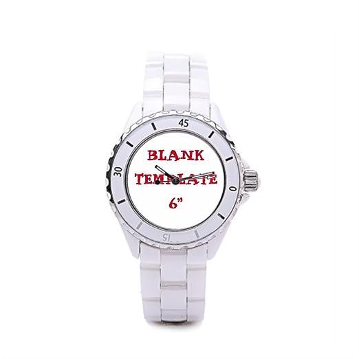 Cerámica reloj de pulsera damas de honor foto Vintage relojes: Amazon.es: Relojes