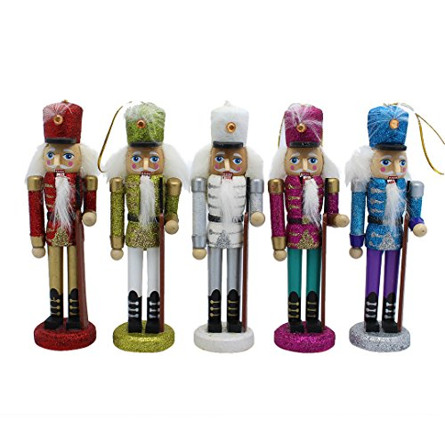 La moriposa Christmas Gift Nutcracker Soldier Sets Ornament Decoration