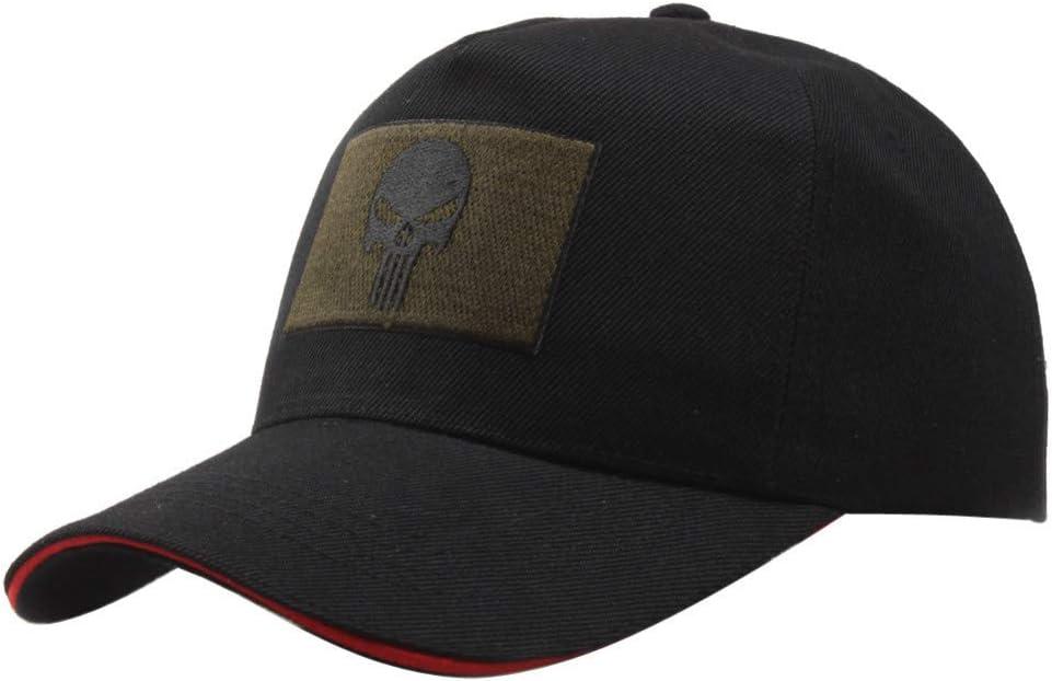 RFVTGB Baseball Cap Cotton Tactical Punisher American Sniper Army Fashion Baseball Cap For Men Women