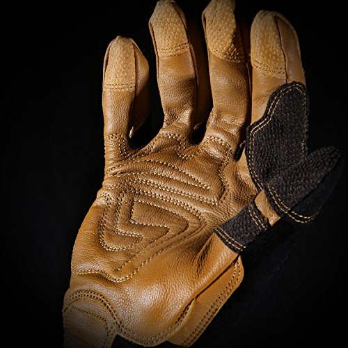 Ironclad Ranchworx Work Gloves RWG2, Premier Leather Work Glove, Performance Fit, Durable, Machine Washable, Sized S, M, L, XL, XXL, XXXL (1 Pair) by Ironclad (Image #10)