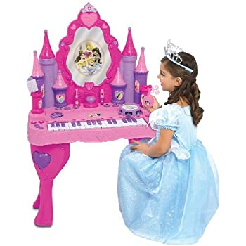 Amazon Com Disney Princess Keyboard Vanity Closed Box Toys Amp Games