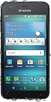 Kyocera Hydro Air 4G LTE Android GSM Waterproof 8mp Led Camera LCD 5.0 Quad Core