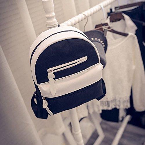Backpacks Bags Women School Bag Backpack Hrph Canvas Travel Students Ladies Noir Package awzxxRW