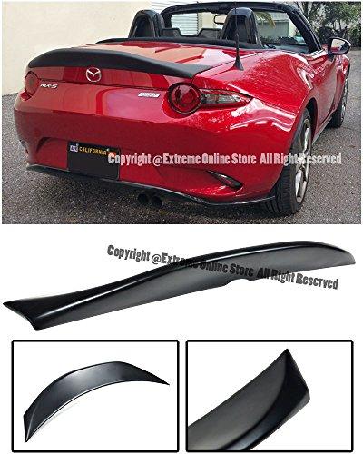 Miata Trunk Lid - Extreme Online Store Leg Sport Style FiberGlass Rear Trunk Lid Duck Tail Wing Spoiler Lip For 16-Up Mazda Miata MX5 MX-5 ND 2016 2017 2018 16 17 18