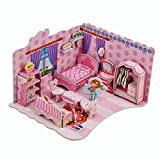 3D Jigsaw Puzzles Toys for Preschool Puzzles Educational Toys For Toddlers /Kids/ Children /Boys/ Girls (Sweet Bedroom)