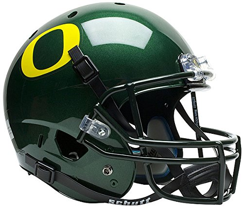 Oregon Ducks Full XP Replica Football Helmet Schutt - NCAA College Football Licensed - Oregon Ducks Collectibles