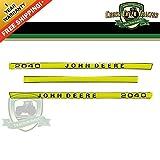 2040DECAL Hood Decal Kit for John Deere 2040