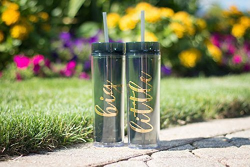 Big and Little Sister Tumbler by Go Greek Chic | Sorority Gifts and Accessories | 16 Ounces