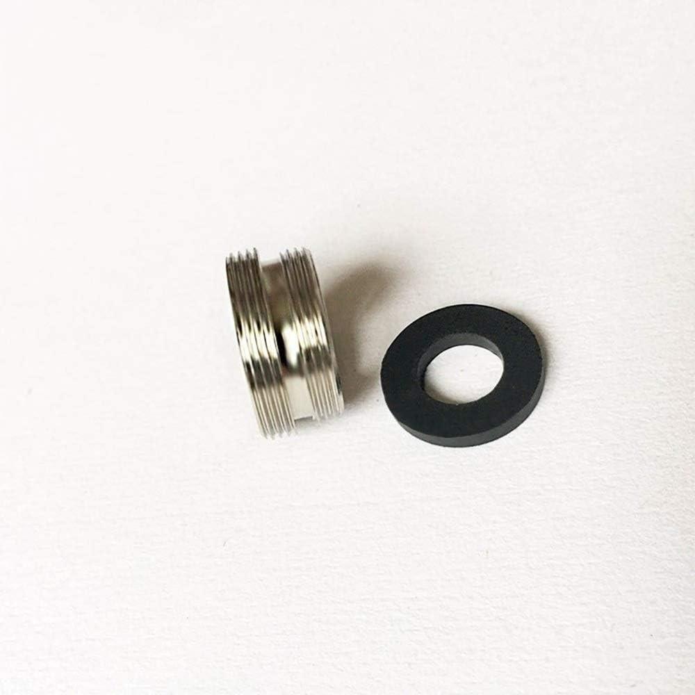 AIGUO Adapter 16 20 22 24 Mm Au/ßengewinde Color : F16 M22 /Übertragen 22-mm-Anschluss Dusche Badezimmer K/üche Messing Material Wasserhahn Zubeh/ör