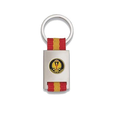 Tiendas LGP Albainox- Llavero Bandera DE ESPAÑA y Emblema ...