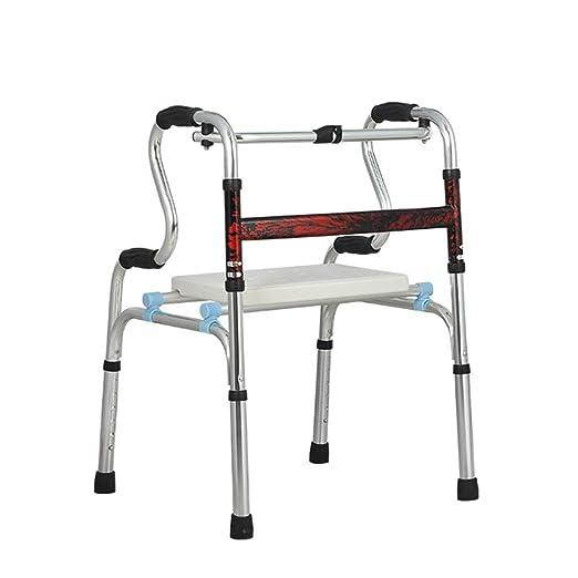 Gym Andadores Apoyabrazos Andador de Cuatro Patas Bastón Caminador ...